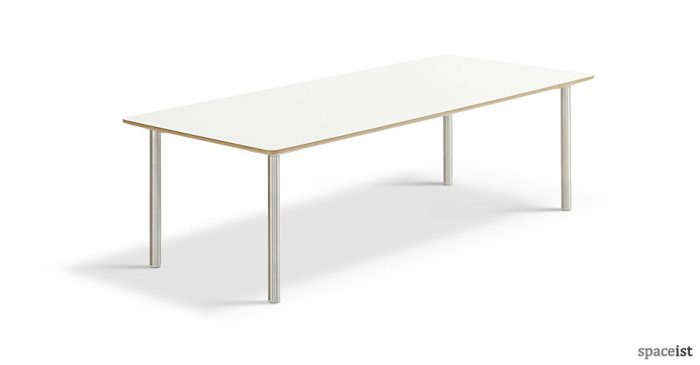 Simple white 18 coffee table