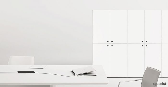 45 double cabinet storage 162cm high