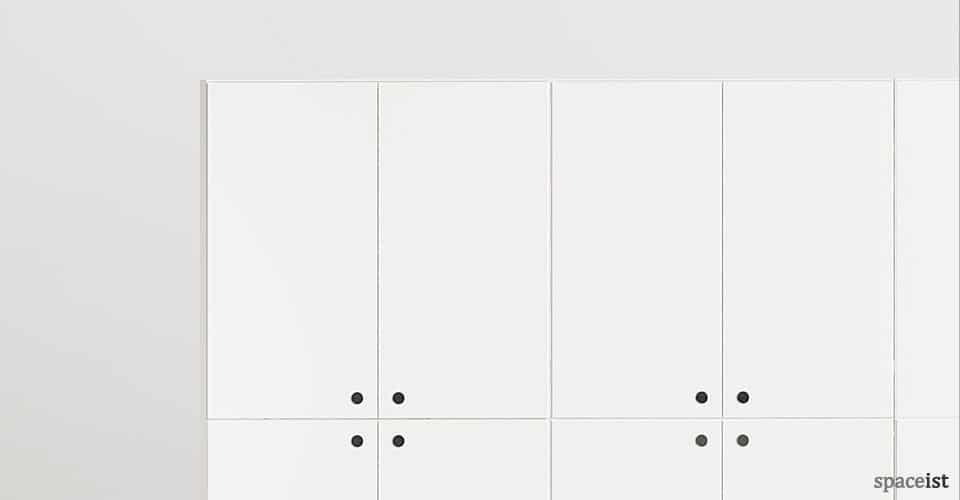 45 double cabinet storage