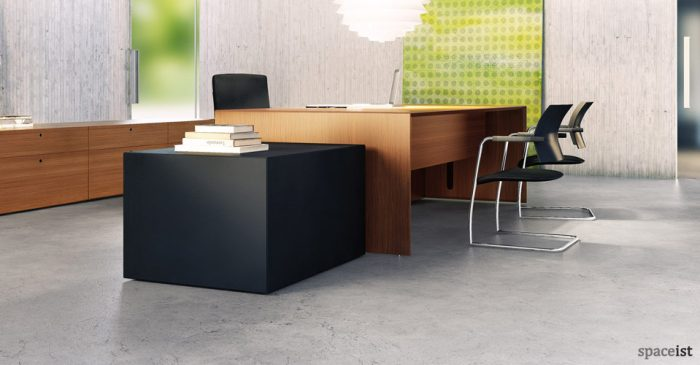 45 executive teak office desk