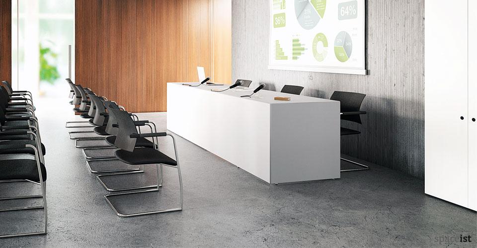 45 minimalist 300cm conference desk