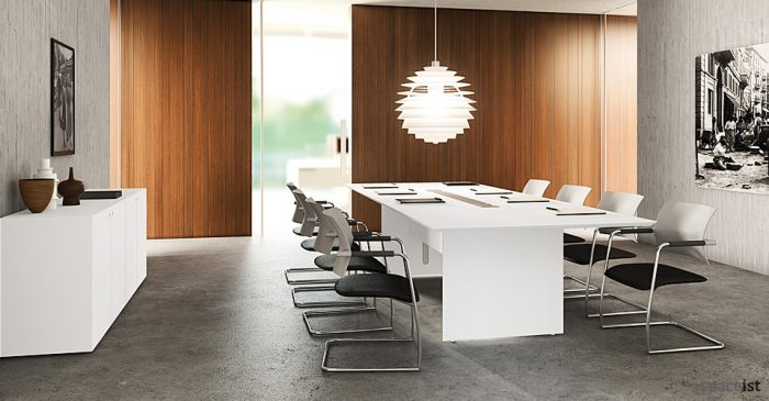 Modern Meeting Room Tables Spaceist Furniture London