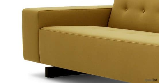 46 mustard office reception sofas