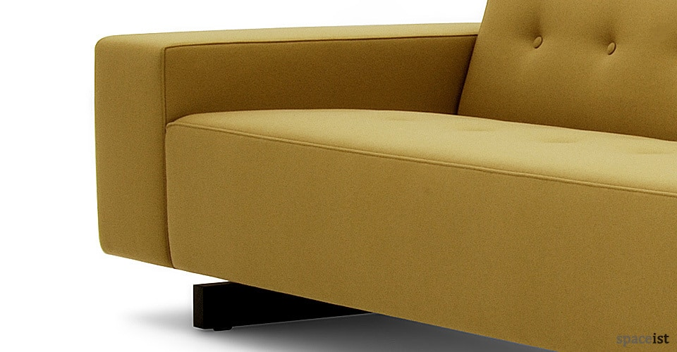 46 mustard office reception sofas