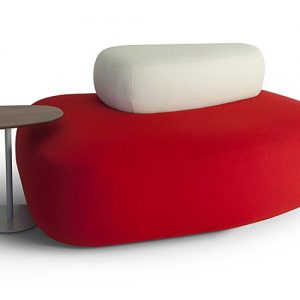 63 oblong shaped reception table