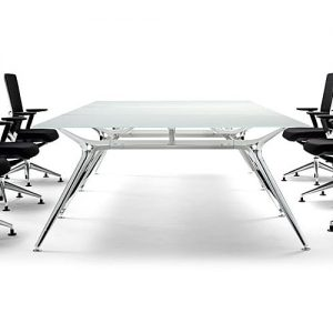 Architec frosted glass meeting and boardroom table