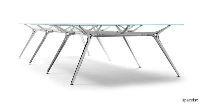 Architec glass meeting and boardroom table