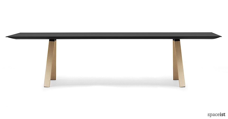 ark black meeting room table