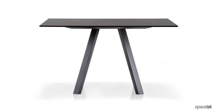 ark black square meeting room table