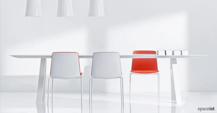 ark white meeting room tables