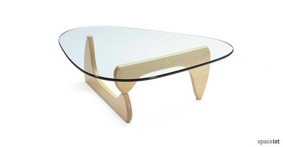 Noguchi ash coffee table
