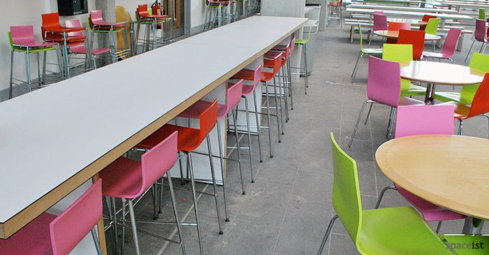 avanto red green pink modern bar stools