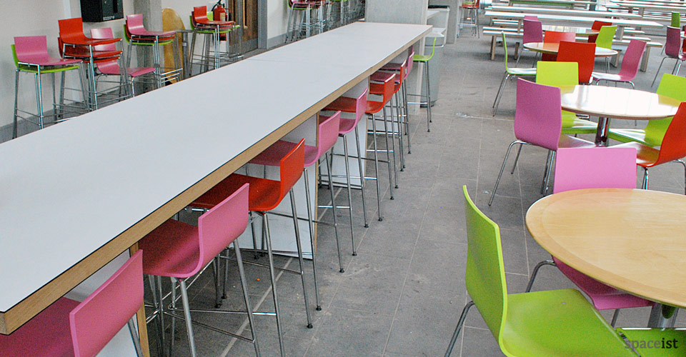avanto red green pink modern bar stools