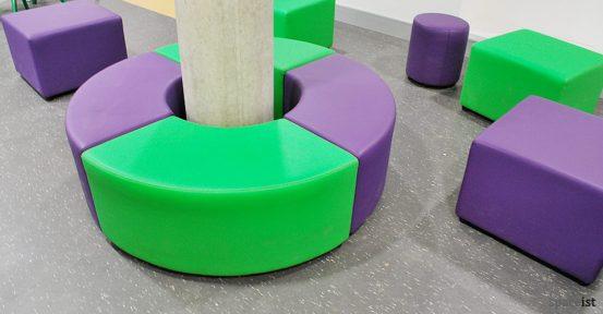 bishop ramsey green purple cubes