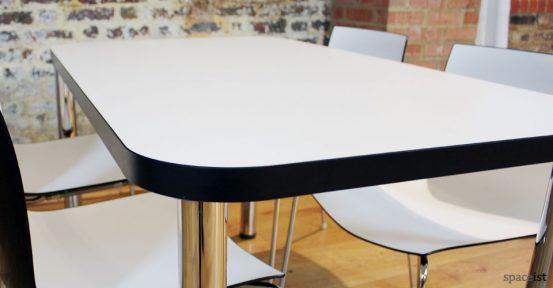 edge black designer cafe tables