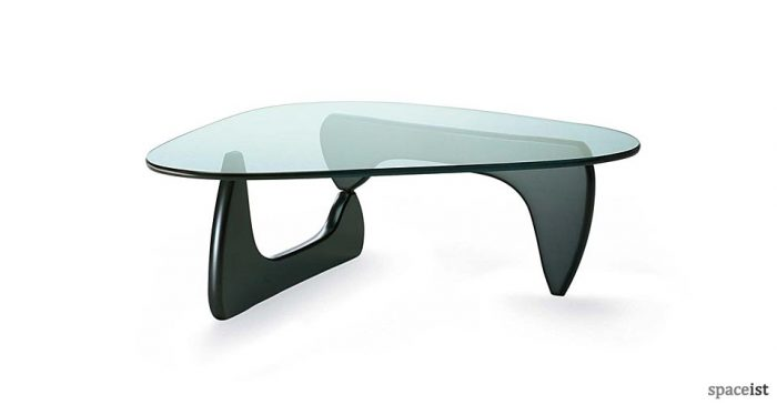 Noguchi black coffee table