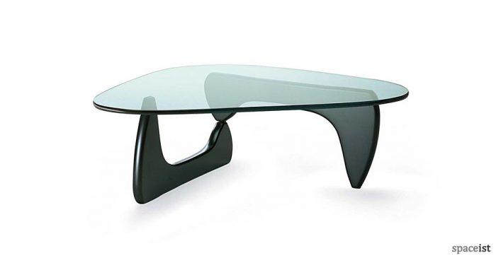 Noguchi black coffee table