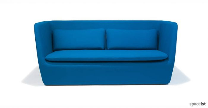 blue cocoon 3 seater sofa
