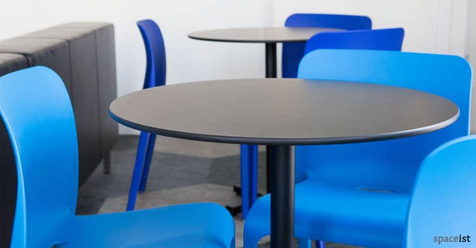 Outdoor Cafe Tables Bold Black Table Sir John Cass Hall