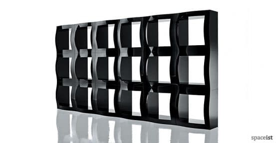 boggie black modular office storage