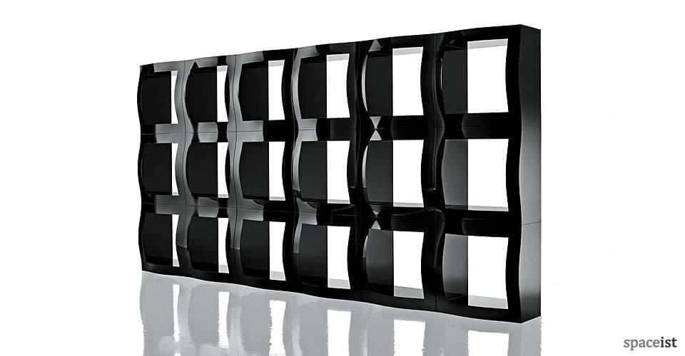 boggie black modular office storage