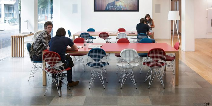 bosa colourful laminate meeting tables
