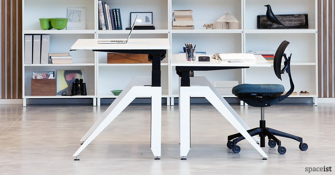 Standing desks cabale standing desk for Office chairs for standing desks