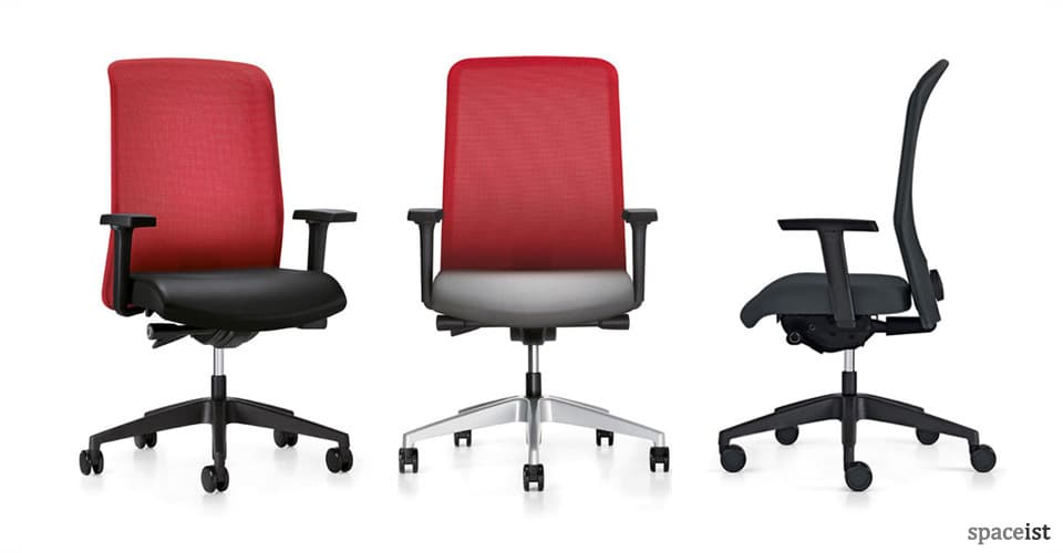 campos mesh task chairs