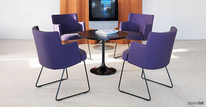cape purple reception chairs