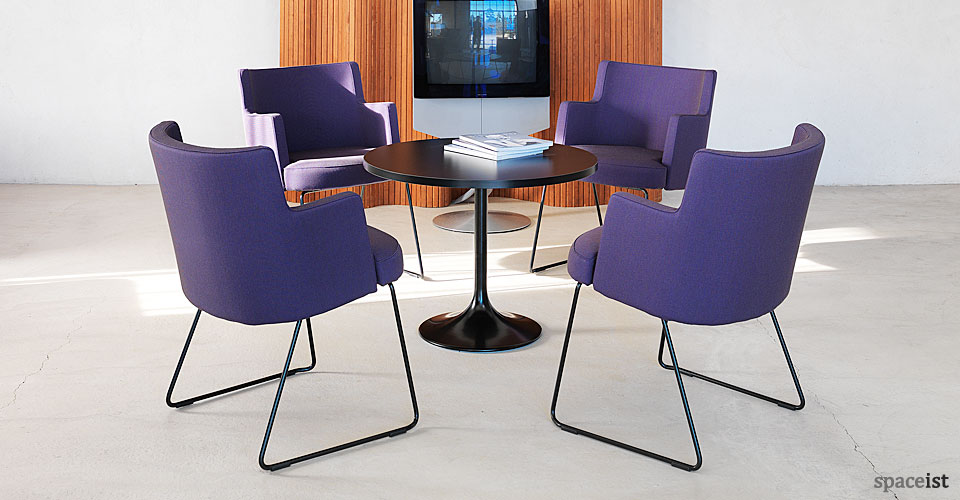 cape purple reception chairs