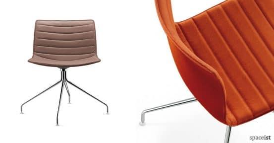 catifa orange meeting room chairs