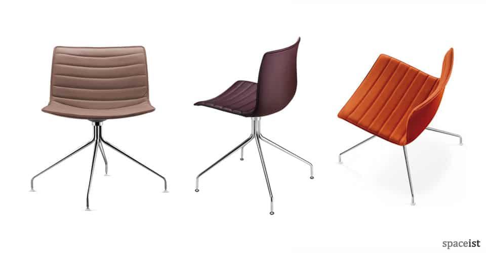 Colourful Meeting Chairs Catifa Meeting Chair Star Base