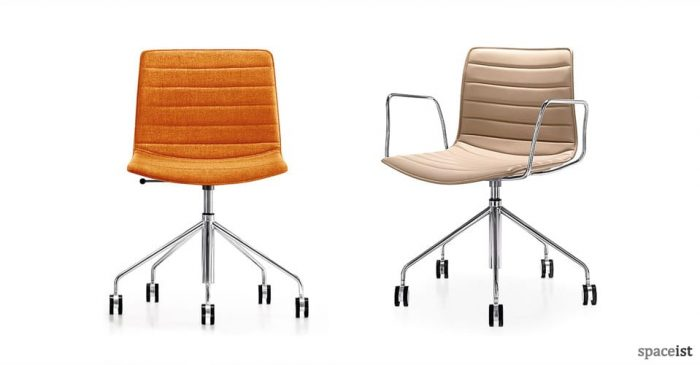 catifa orange star base chairs