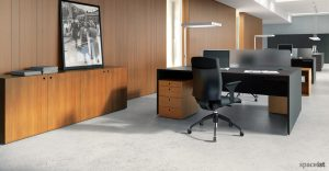 cinnamon black task chairs