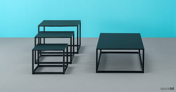 Code black coffee table