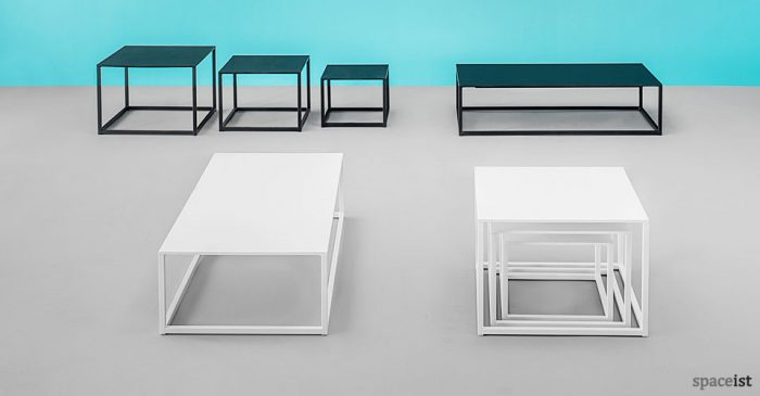 Code white and black coffee table