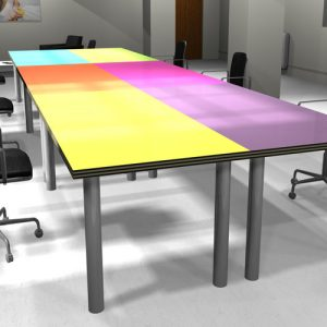 spaceist colour office desk