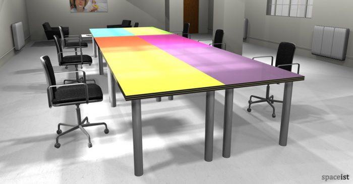 spaceist colour office desk