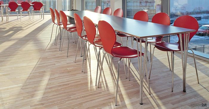 contract school grey canteen tables