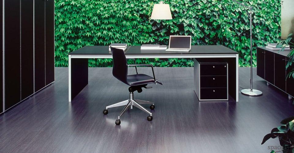 corium leather exeutive desks