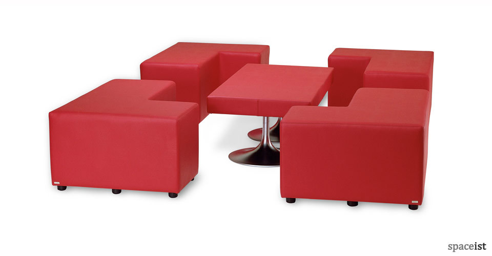 cubes red corner cubes