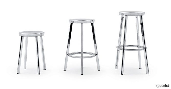 deja vu aluminium bar stools
