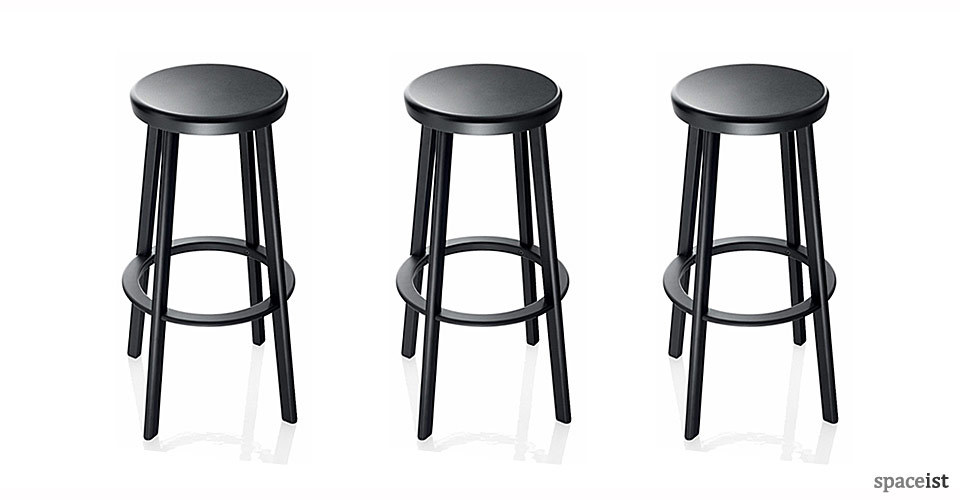 Remarkable Deja Vu Black Bar Stool Ocoug Best Dining Table And Chair Ideas Images Ocougorg