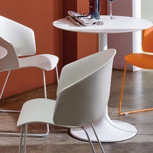 dream white designer cafe tables