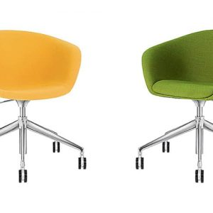 duna fabric office chairs