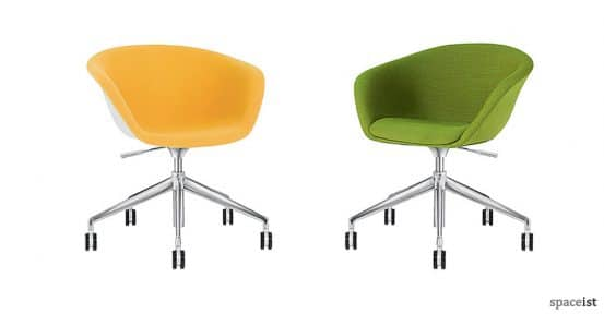duna fabric office chairs