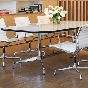 eames leather meeting chairs