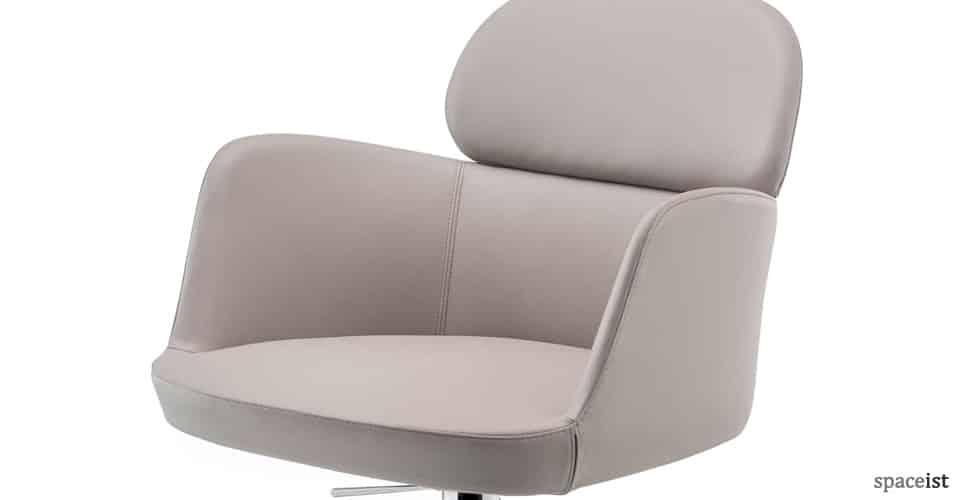 Ester modern leather desk chair