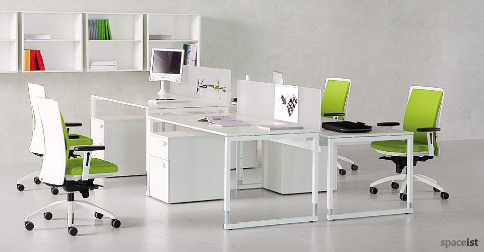 frame height adjustable desks