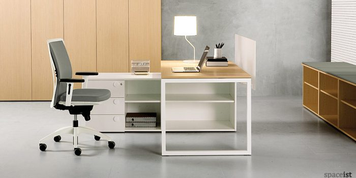 frame oak office desks